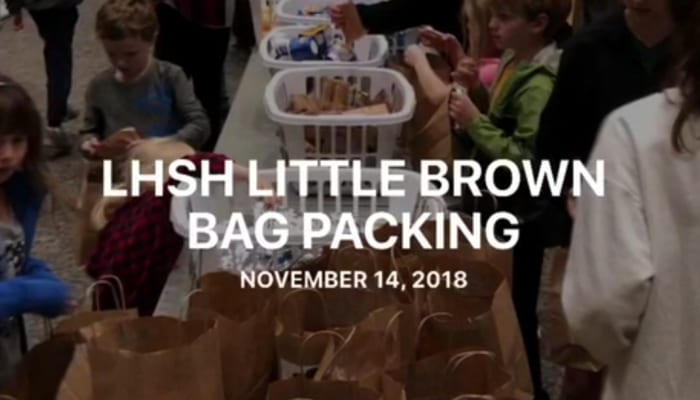 LHS Little Brown Bag Packing